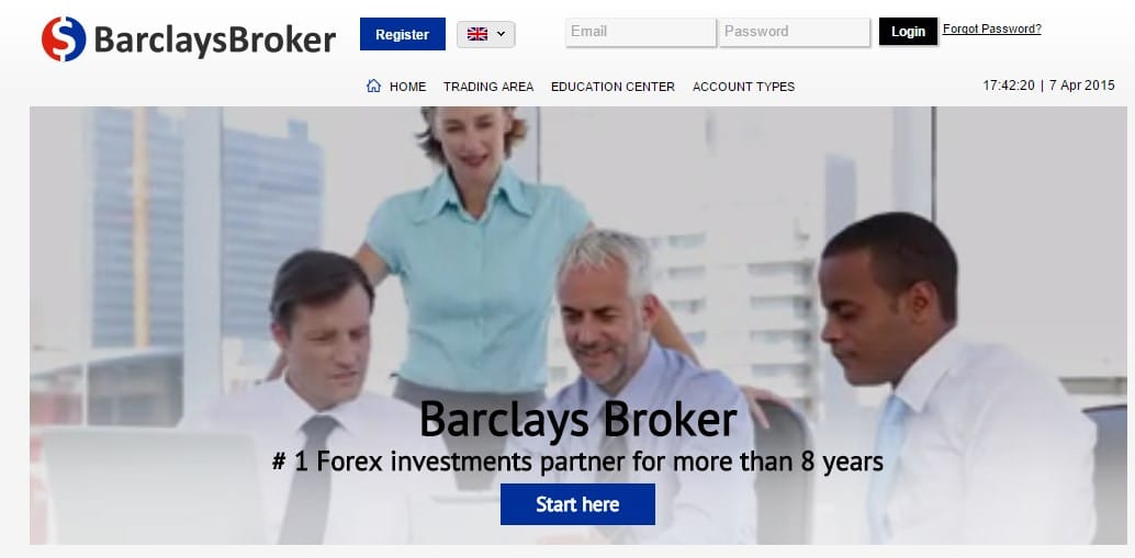 barclaysbroker estafa de forex